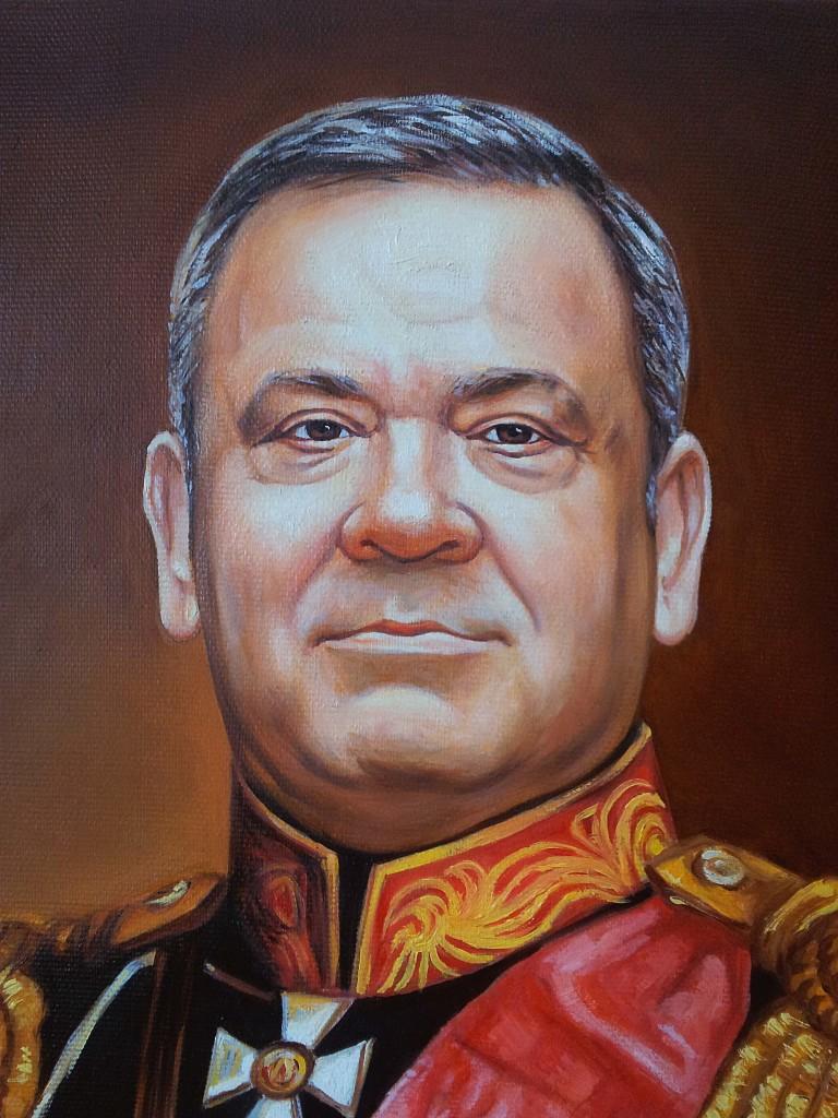 Портрет маслом на холсте в Набережных Челнах