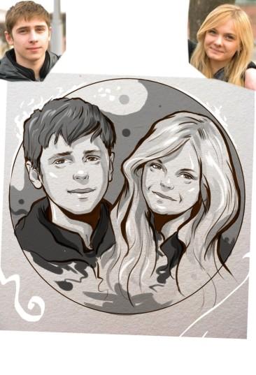 Заказать портрет на годовщину свадьбы в Набережных Челнах