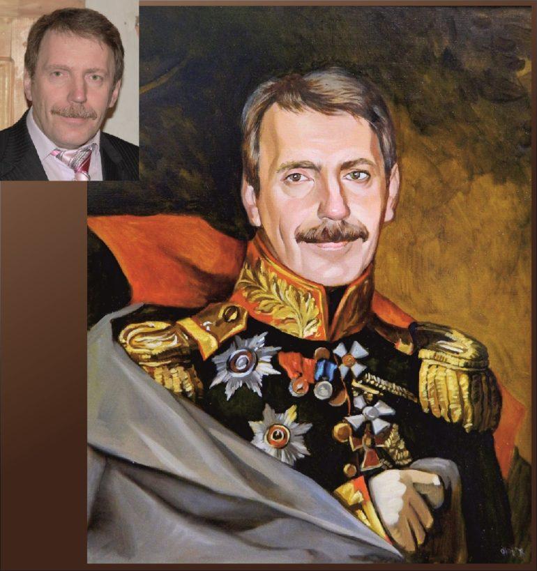 Настоящий портрет маслом на заказ в Набережных Челнах…