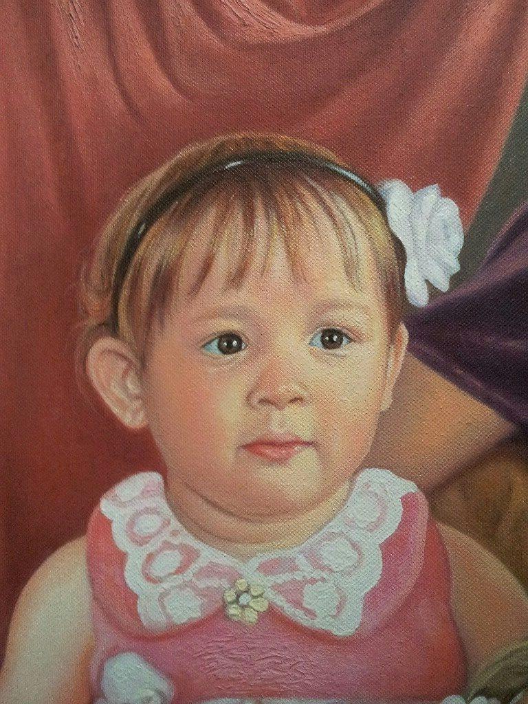 Портрет маслом семейный Набережные челны