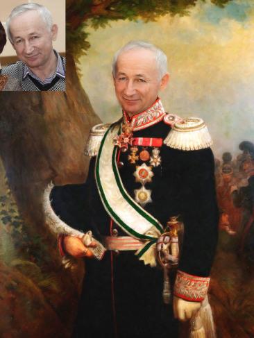 Где заказать исторический портрет по фото на холсте в Набережных Челнах?