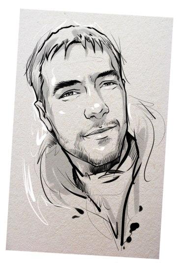 Портрет карандашом любимому мужу в Набережных Челнах…