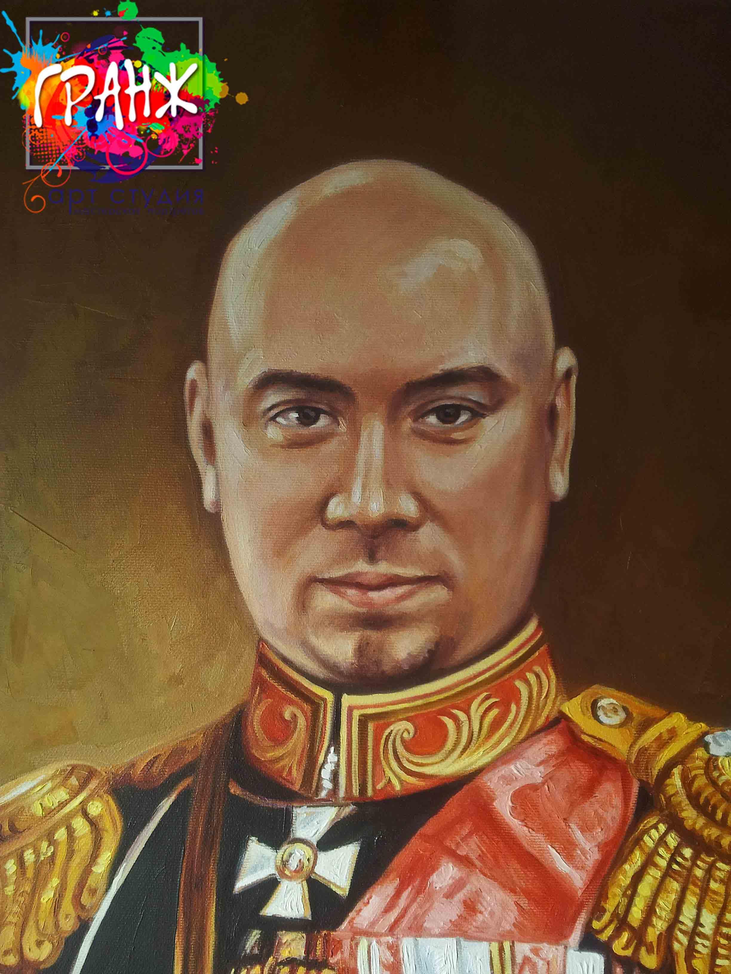 Заказать портрет маслом по фотографии в Набережных Челнах